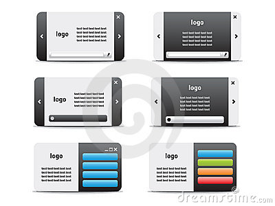 Web business card set 04