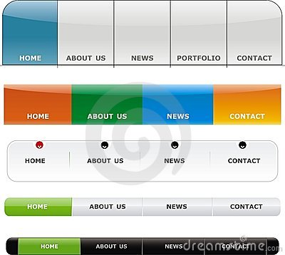 Free Web Button Royalty Free Stock Photos - 8844978