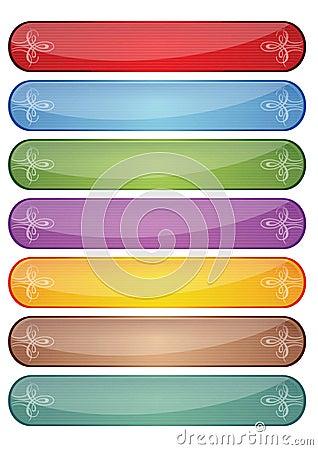 Web button elements