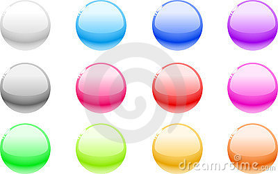 Web Buttons. Stock Photography - Image: 10528772