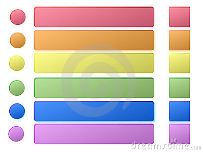 Web Buttons Royalty Free Stock Photos - Image: 13643068
