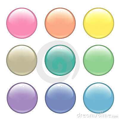 Free Web Buttons Royalty Free Stock Photo - 2824005
