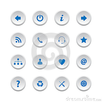 Web buttons set 2
