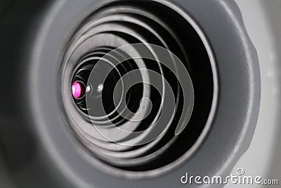 Web cam close-up