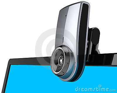 Web camera internet communication