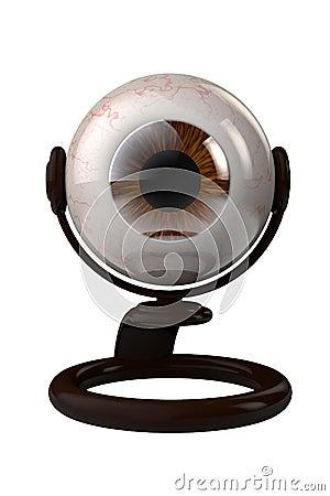 Web chamber as human eye