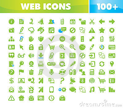 Web & Communication icons set.
