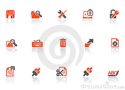 Web and connect icons