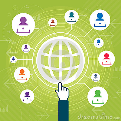 Web Contact Network