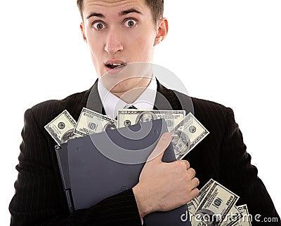 Web-criminal stoles money
