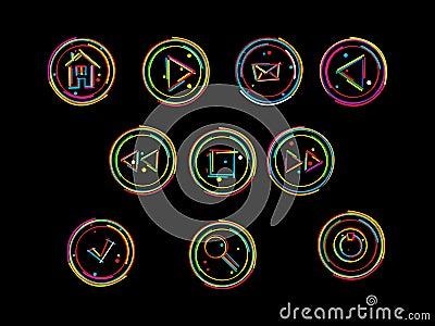 Web deign buttons
