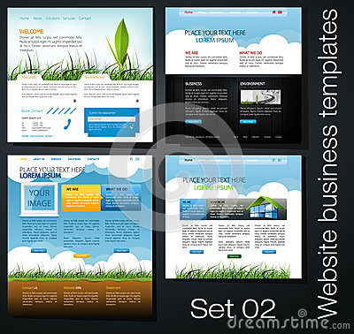Web design set