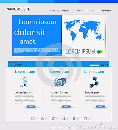 Web design templat