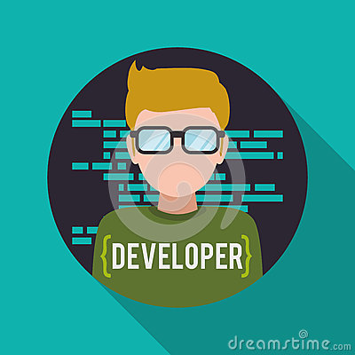 Free Web Developer Design Royalty Free Stock Images - 62575639