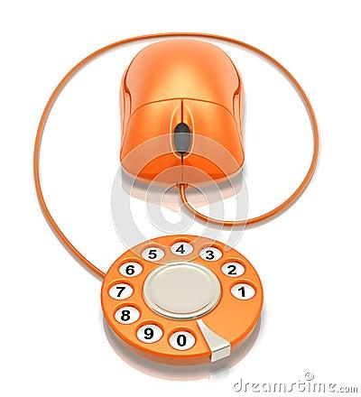 Free Web Dialing Royalty Free Stock Photos - 7694048