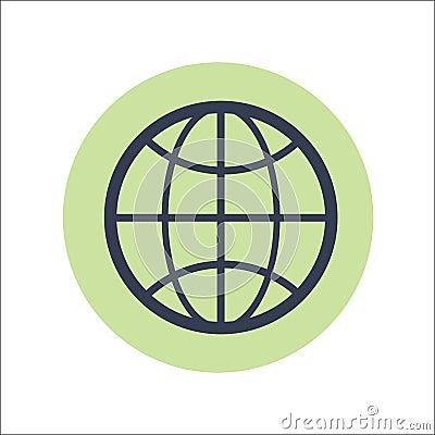 Web Flat Icon Vector Vector Illustration
