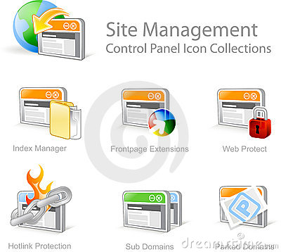 Free Web Graphical Icons Royalty Free Stock Photography - 3681967