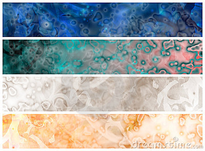 Web grungy headers