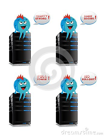 Web hosting/server features