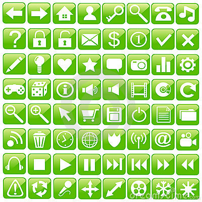 Web Icon Set.