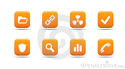 Web icon set 2| Apricot series