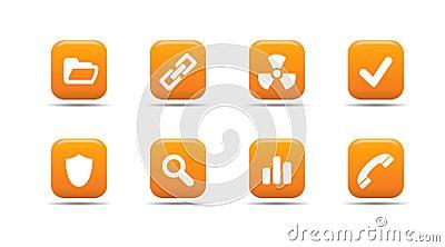 Web icon set 2| Apricot series