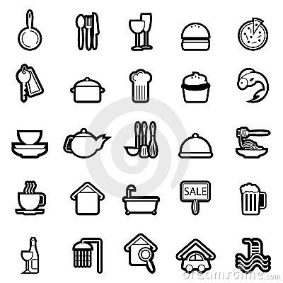Web icon set 4 (easily editable)