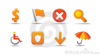 Web icon set 4 | Pumpkin serie