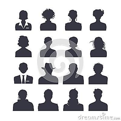 Free Web Icon Set Avatars Royalty Free Stock Image - 35111796