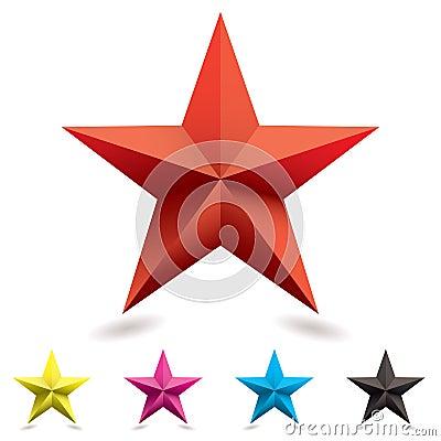 Web icon star shape