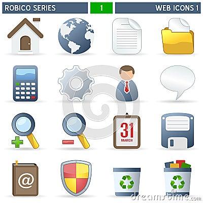 Web Icons [1] - Robico Series
