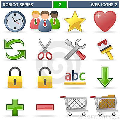 Web Icons [2] - Robico Series