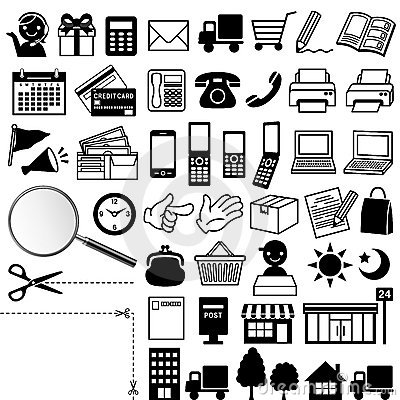 Free Web Icons Stock Photography - 22452252