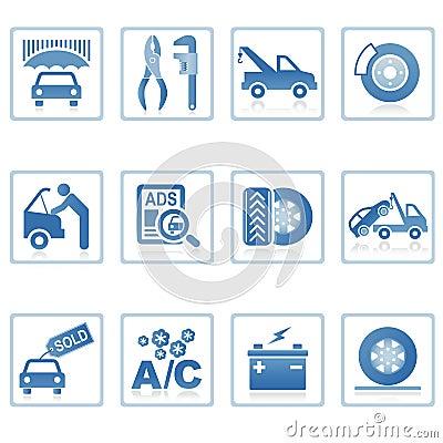 Web icons : Auto service icon
