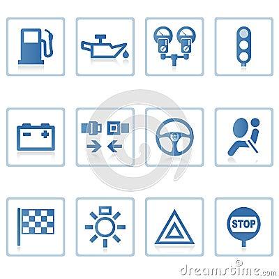 Free Web Icons : Automobile I Royalty Free Stock Photo - 3322915