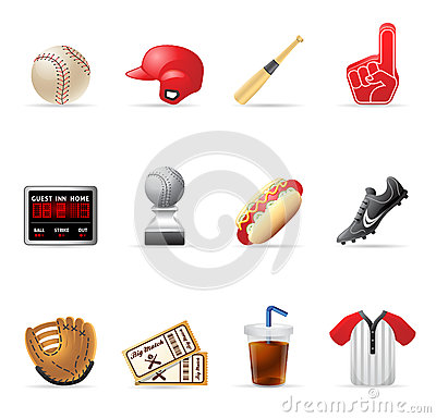 Web Icons - Baseball