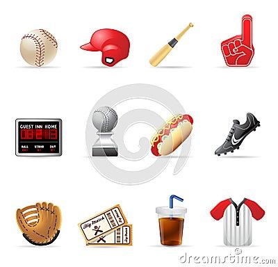 Web Icons - Baseball