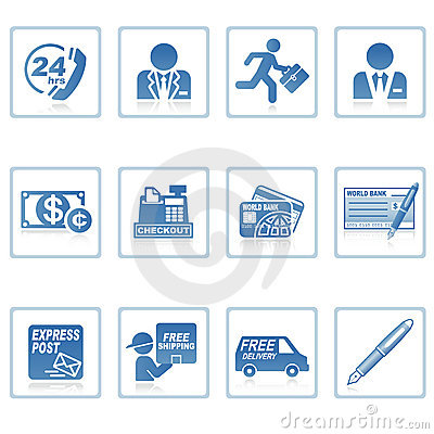 Free Web Icons : Business And Finance III Stock Photos - 8834313