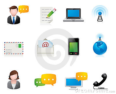 Web Icons - Communication