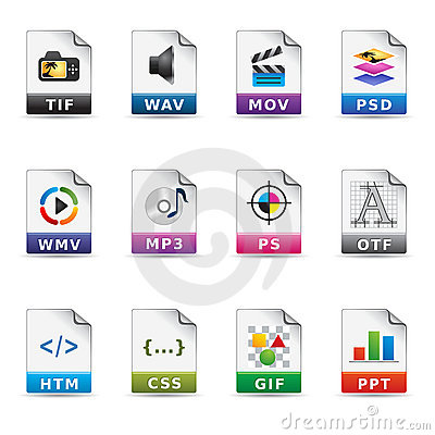 Web Icons - File Types 2