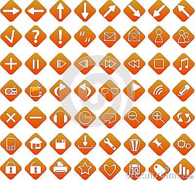 Web icons - new set  internet icons