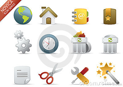 Web Icons - Novica Series #1