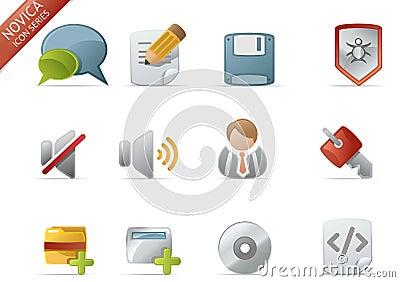 Web Icons - Novica Series #4