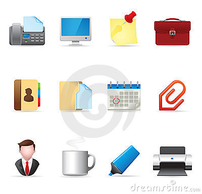 Web Icons - Office