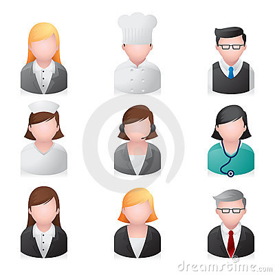 Web Icons - Professional People