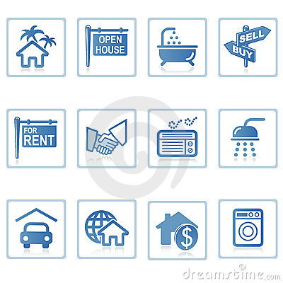 Free Web Icons : Real Estate 1 Royalty Free Stock Image - 2820806
