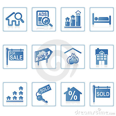Free Web Icons : Real Estate 2 Stock Image - 2820821