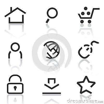 Web icons set 1