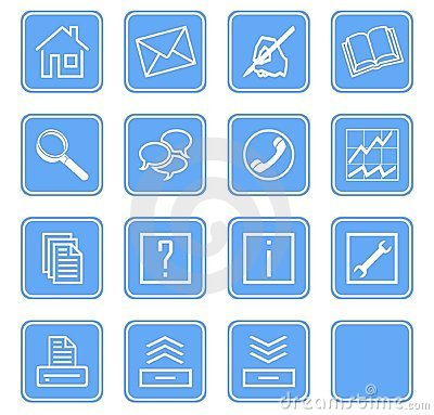 Web icons set no.2 - blue.1
