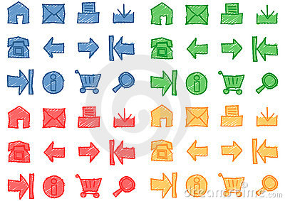 Web Icons Set - Vector